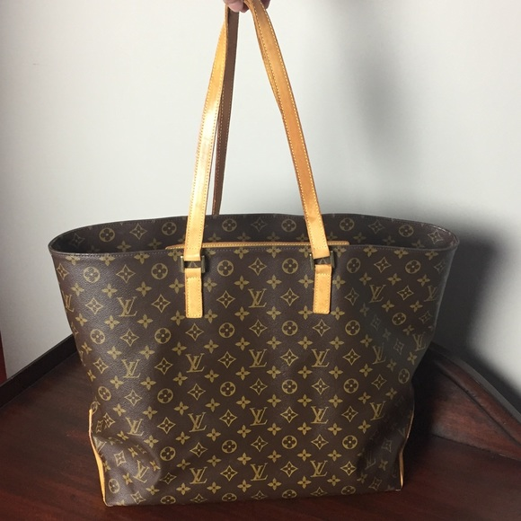 d33eb302 Louis Vuitton authentic vintage Cabas Alto XL tote